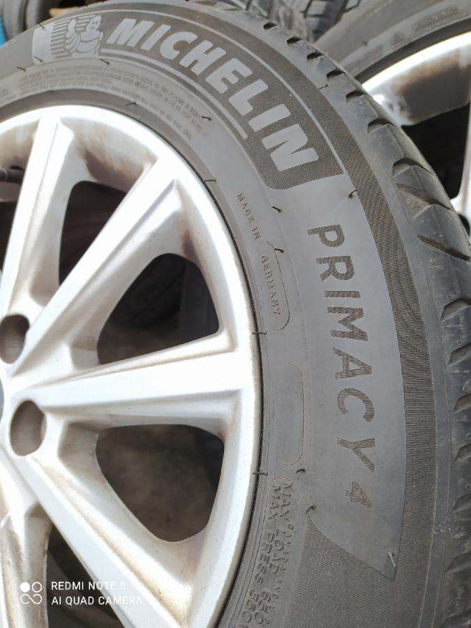 Резина летняя 215/55/16 Michelin Primacy4-1 шт