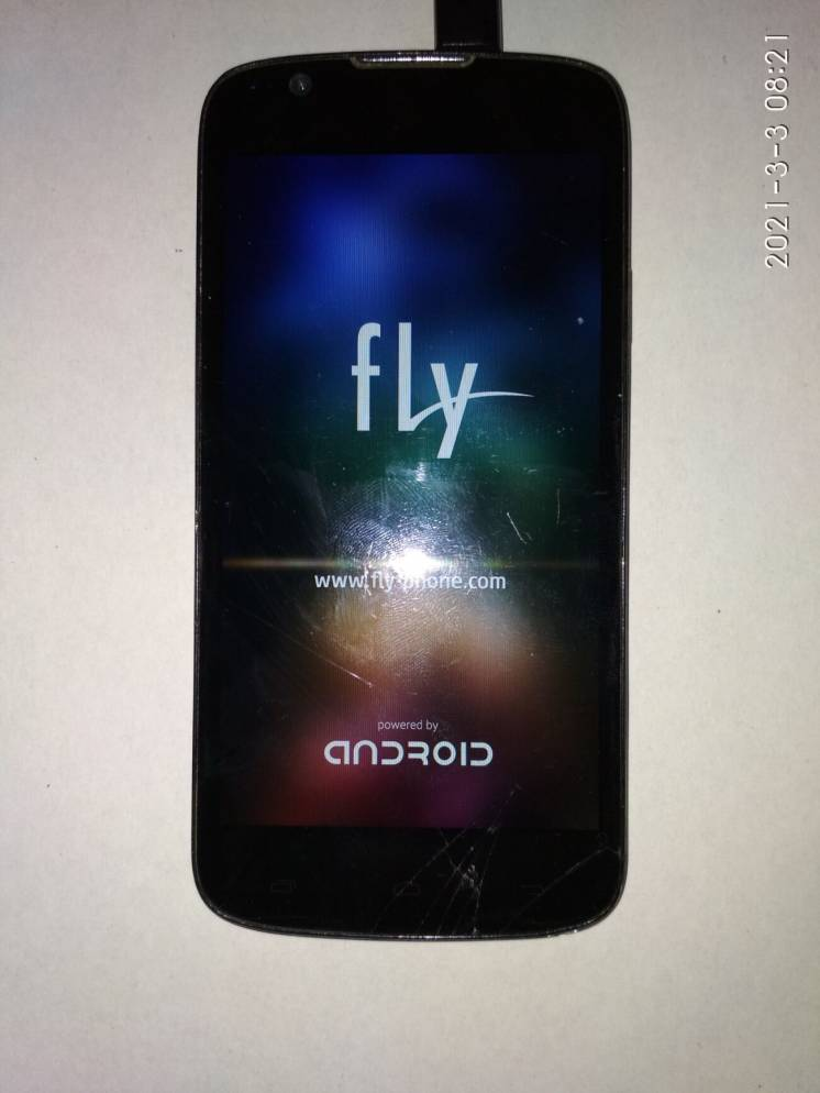 FLY IQ 4413 Quad black, Android 4.4.2