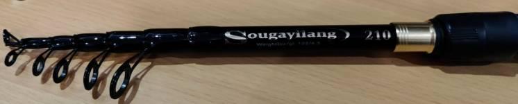 Кастинговое удилище Sougayilang с мультипликаторной катушкой