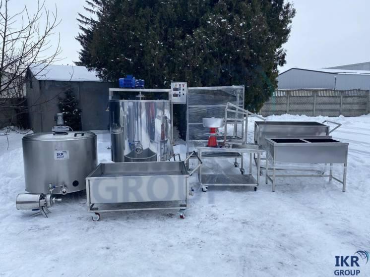 Цех по переработке молока 500 л, 1000 литров/ Цех переробки молока