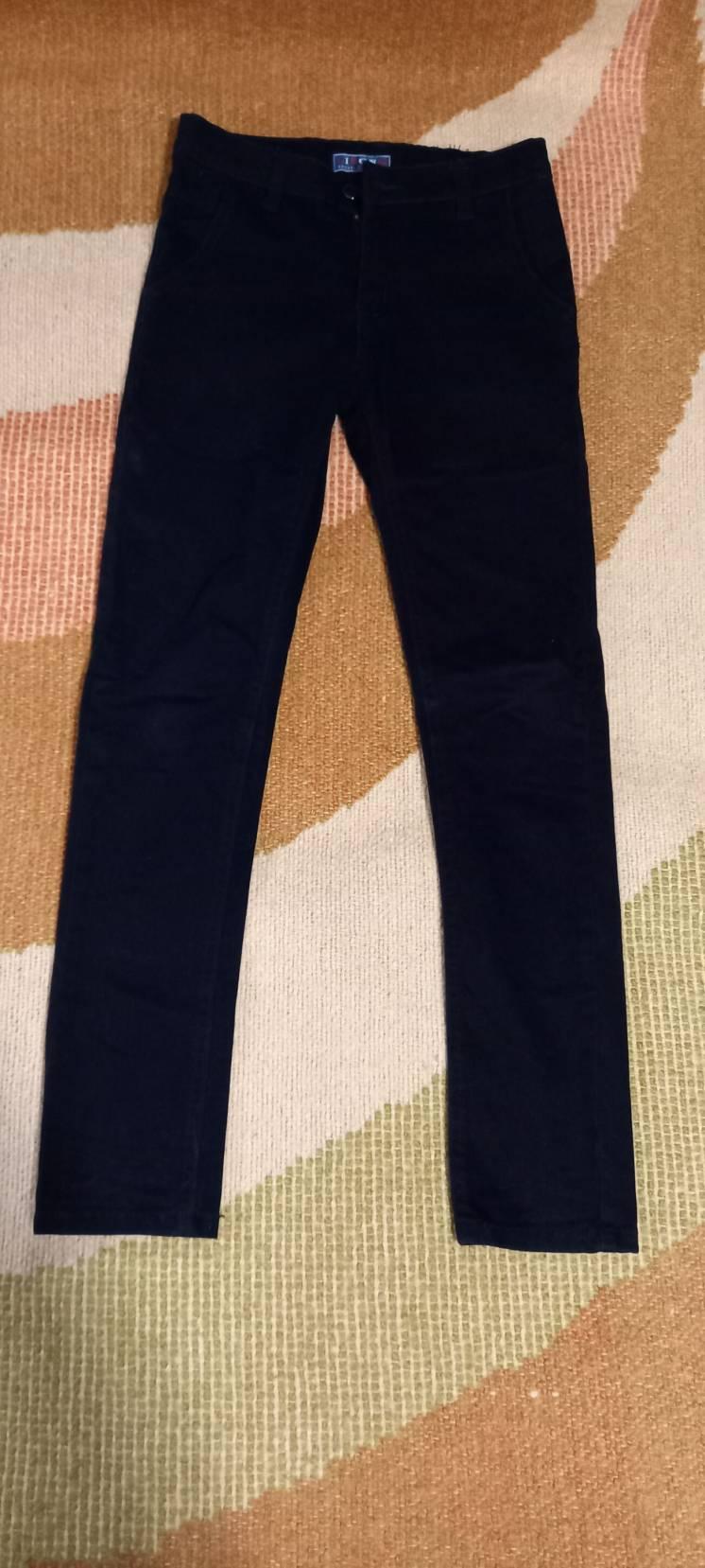 Узкие джинсы мальчику.