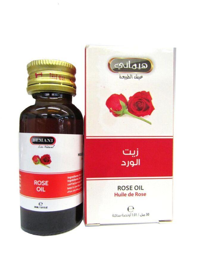 Масло розы Hemani 30 мл.