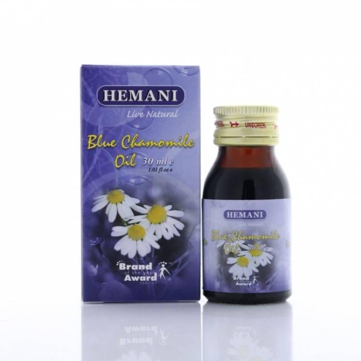 Масло голубой ромашки Hemani 30 мл.