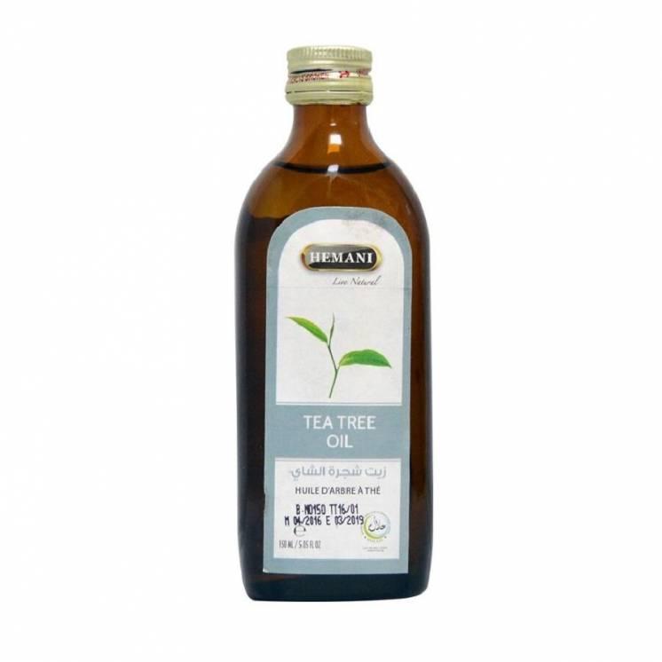 Масло чайного дерева Hemani 150 мл.