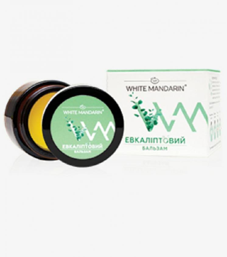Эвкалиптовый натуральный бальзам White Mandarin 30 мл.