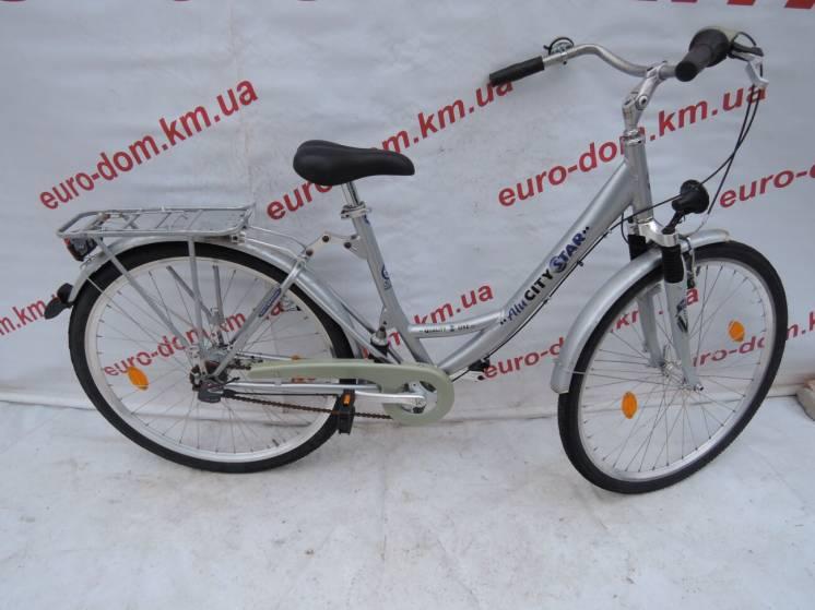 Городской велосипед Alusitystar 28 колеса 7 скоростей на планетарке. с
