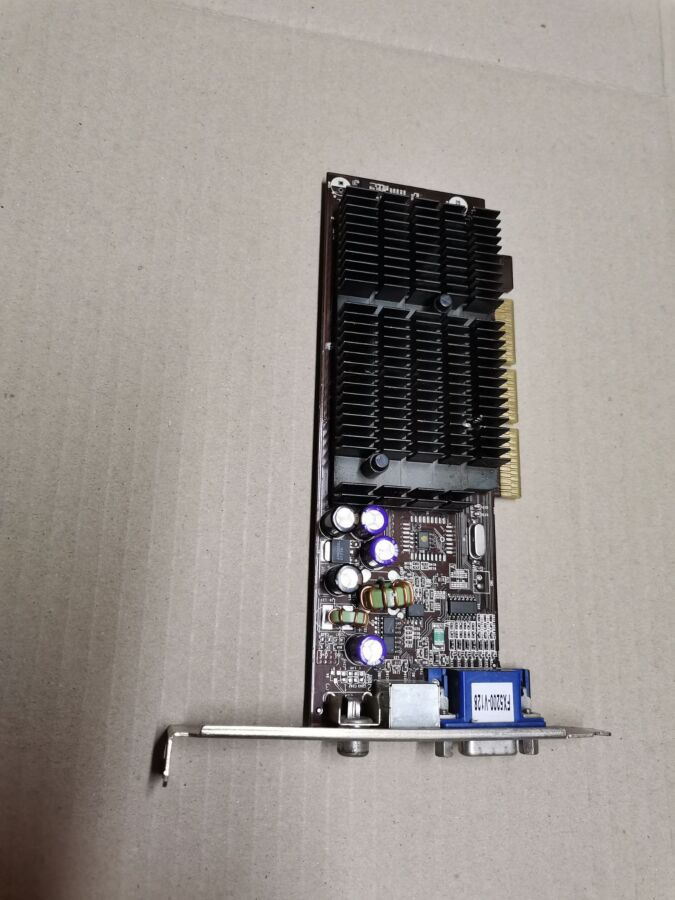 Видеокарта Fx5200-v128 Nvidia Geforce Fx 5200