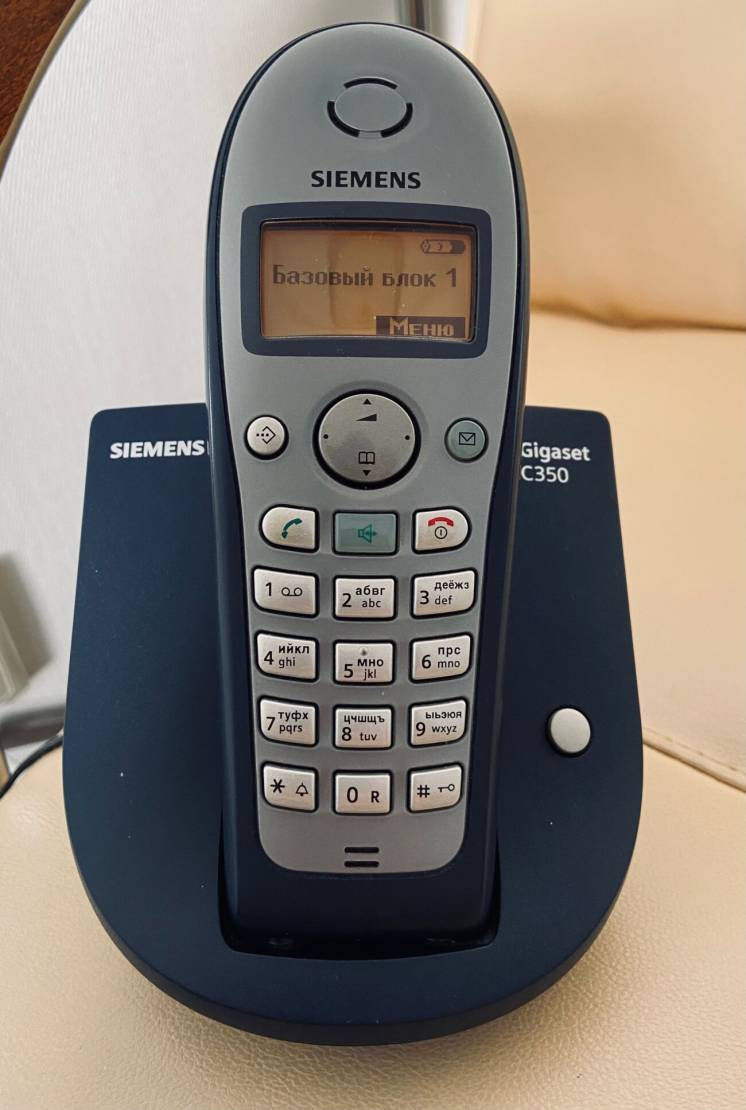 DECT-Радиотелефон Siemens Gigaset C350