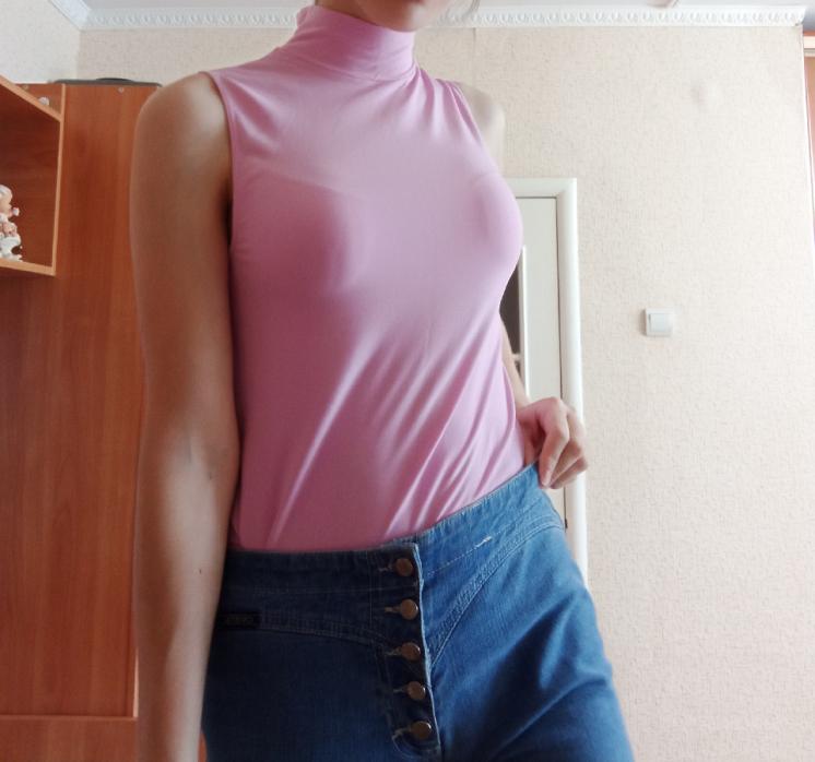 Майка летняя (светло-розовая)