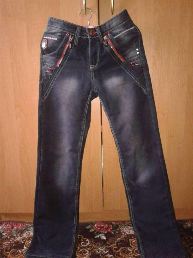 Джинсовые мужские брюки