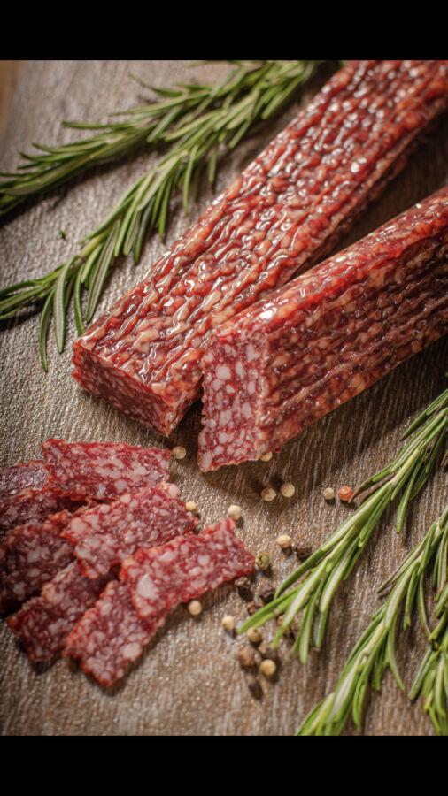 Колбаса из мяса дичи