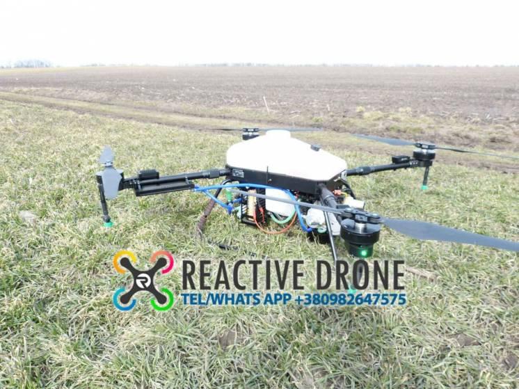 Гибридный дрон опрыскиватель Reactive Drone Hybrid RDH20