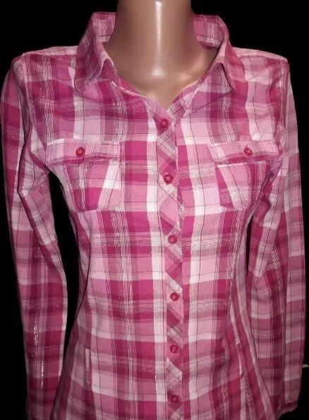 Рубашка женская в клеточку Okay