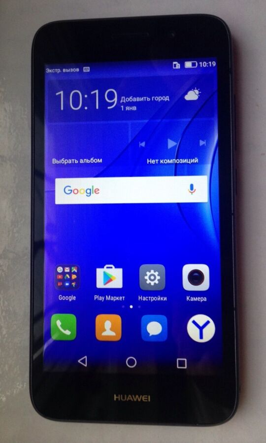 Смартфон, телефон Huawei Y3 2017 мод.CRO-U00