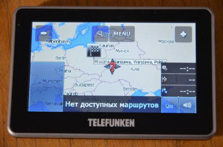 Навігатор Telefunken