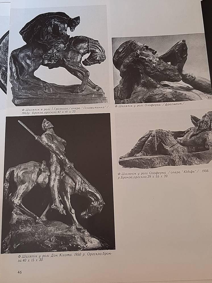 Иван Петрович Кавалеридзе автор бронзовая скульптура.