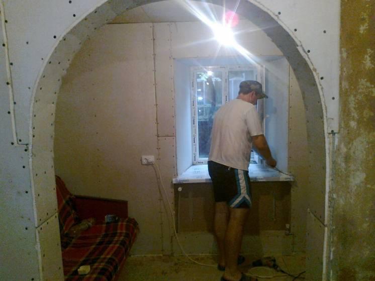 Натяжные потолки и все виды ремонтных работ.