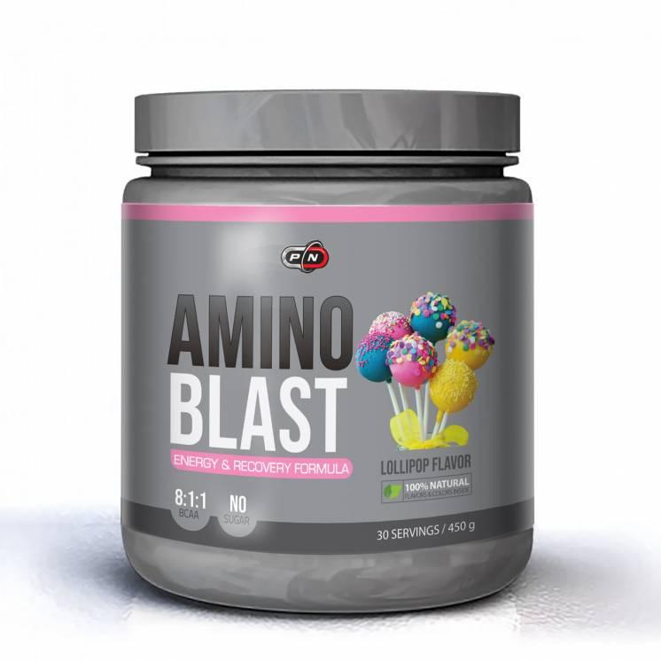 Аминокислоты BCAA 8:1:1 AMINO BLAST 450 грамм