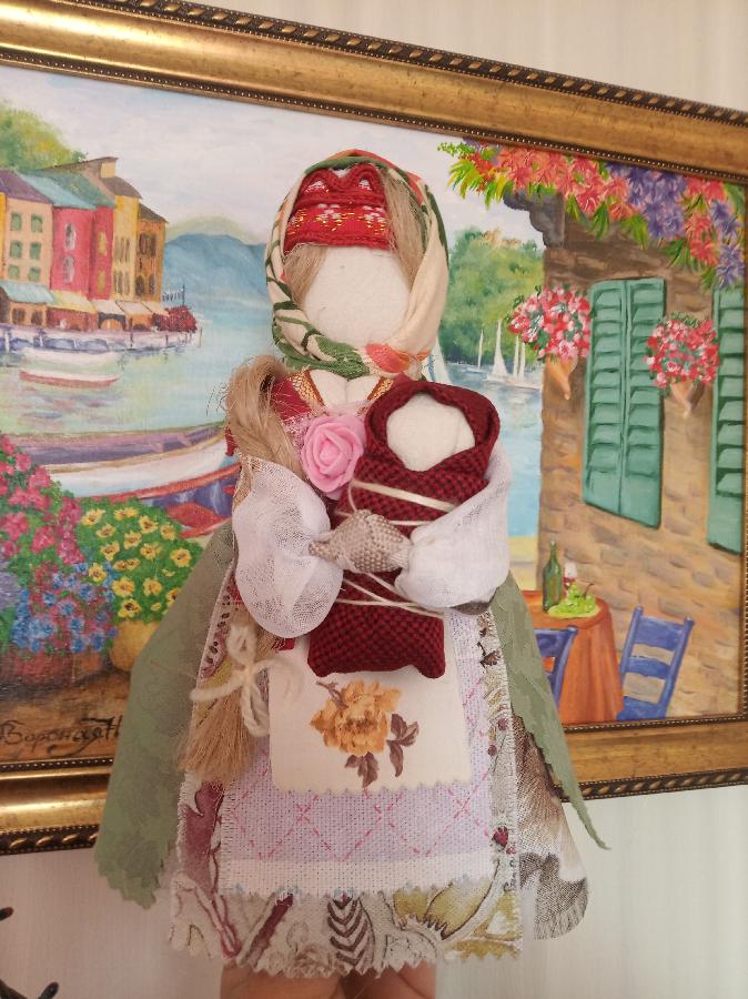 Лялька мотанка, кукла мотанка берегиня зріст від 20 до 40 см
