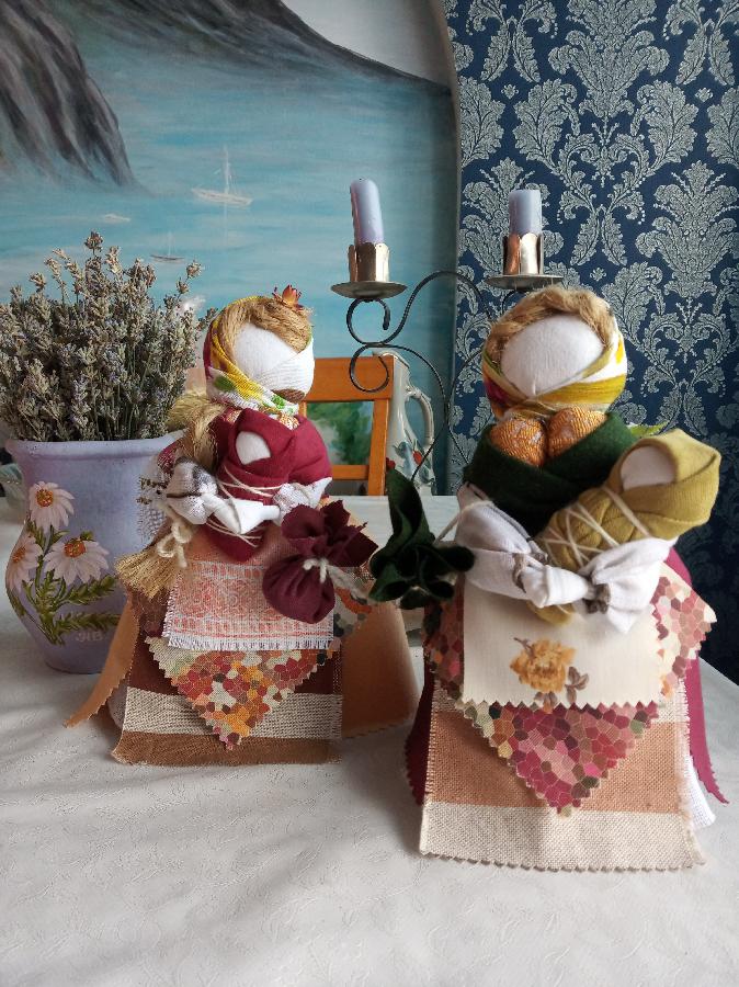 Лялька мотанка, кубишка-травниця,, Берегиня,, зріст від 15 др 40 см