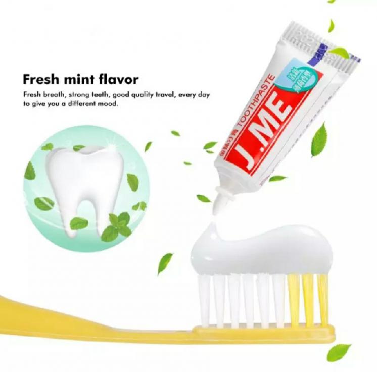 Зубна щітка + зубна паста
