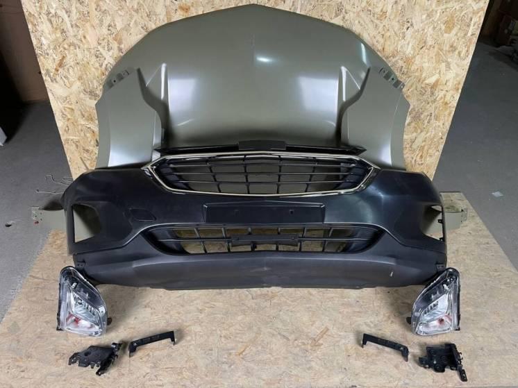Chevrolet Equinox Капот Бампер Крыло Решетка Туманка ПТФ Фара Панель