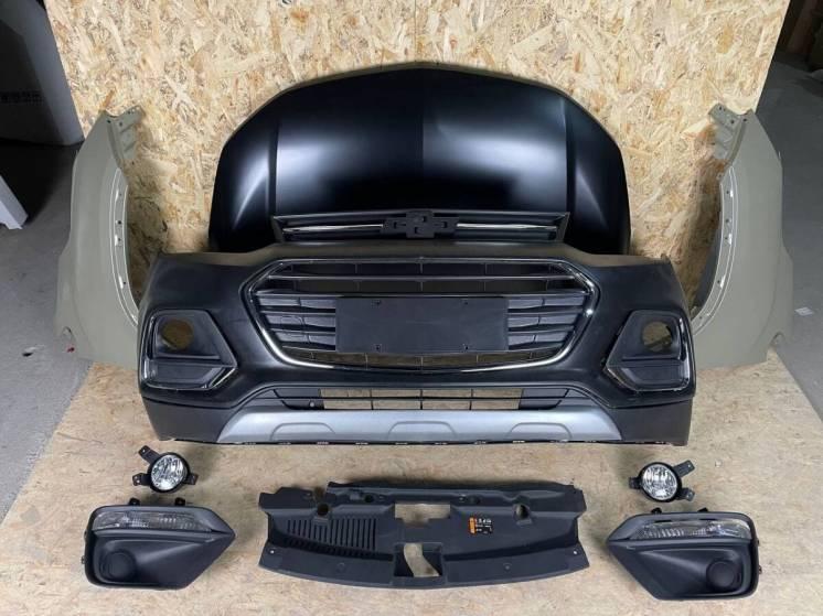 Chevrolet Trax 2017-2020 Капот Крыло Левое Правое Бампер Решетка ПТФ