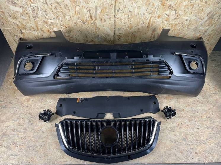 Buick Envision Бампер Передний Решетка Радиатора Противотуманка