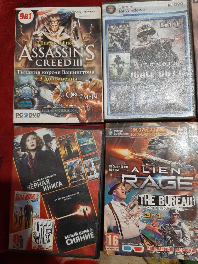 Продам игровые диски.