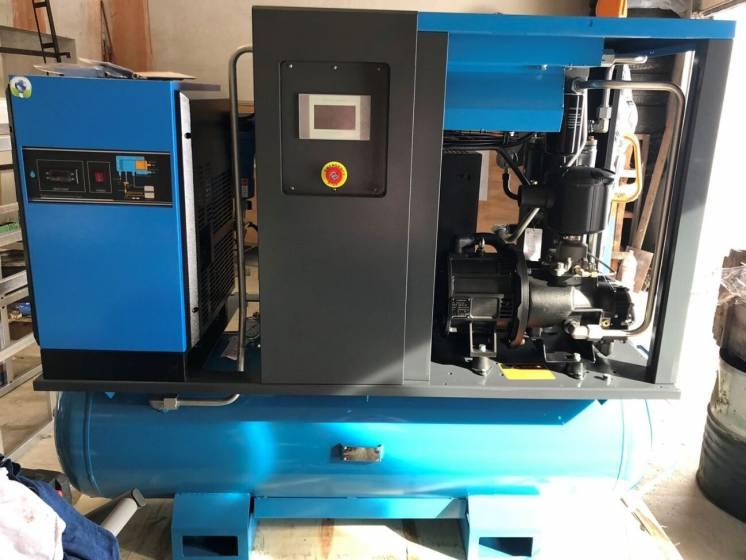 Компрессор винтовой (компресор гвинтовий) 15 кВт с частотником