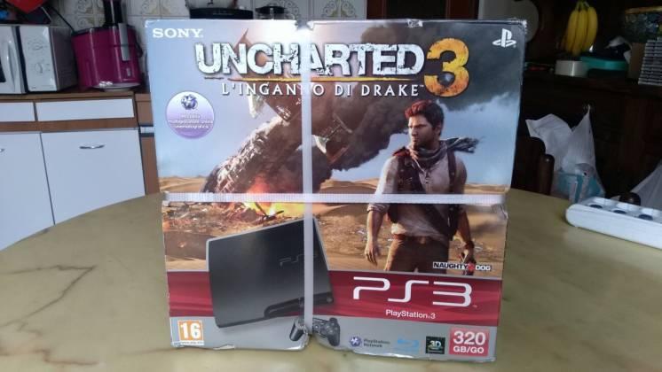 игровая приставкаSony Playstation 3 Slim 320GB/GO (новая) + 45-шт диск