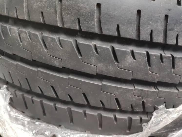 Резина в сборе 205/65/15С 4 шт. VW T5 Лето Состояние новых