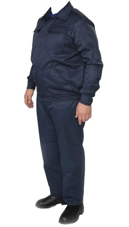 Полукомбинезон рабочий с курткой синий