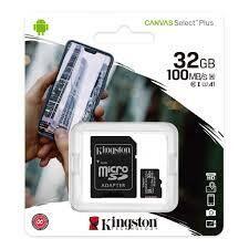 Карта памяти 32 Гб кл 10 micro SD 100 Mb/S