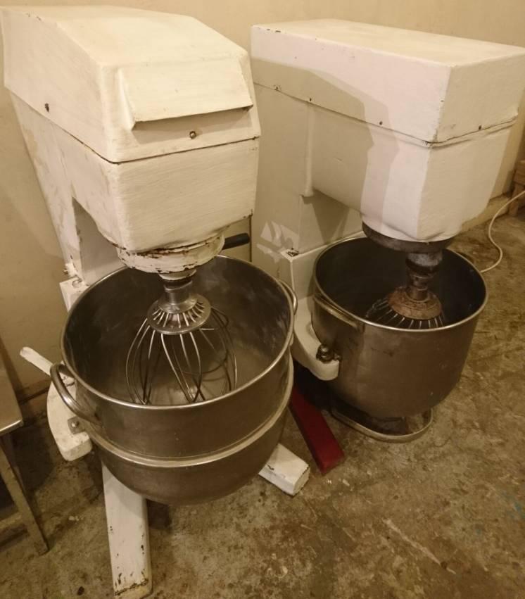 Миксер кремовзбивалку 60л, оборудование пекарни