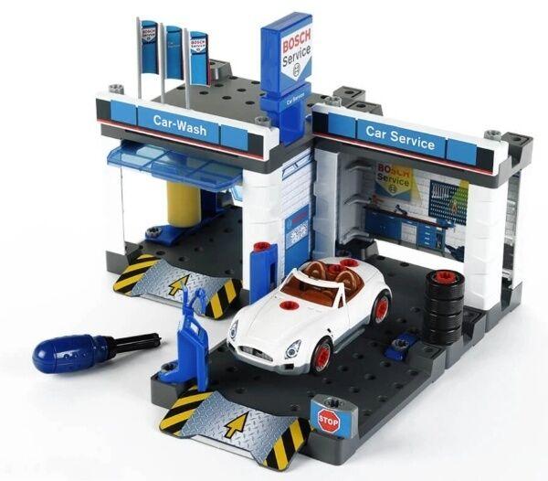 Дитячий набір станція технічного обслуговування з автомийкою