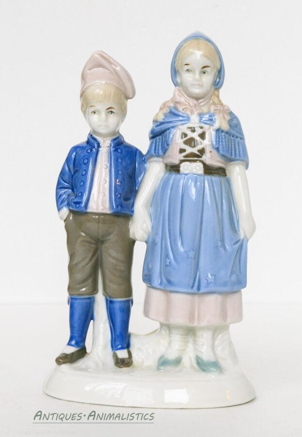 Фарфоровая статуэтка LIPPELSDORF Германия Дети