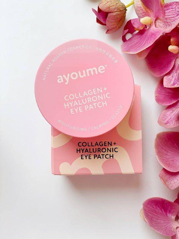 Гидрогелевые патчи для глаз Ayoume Collagen + Hyaluronic Eye Patch