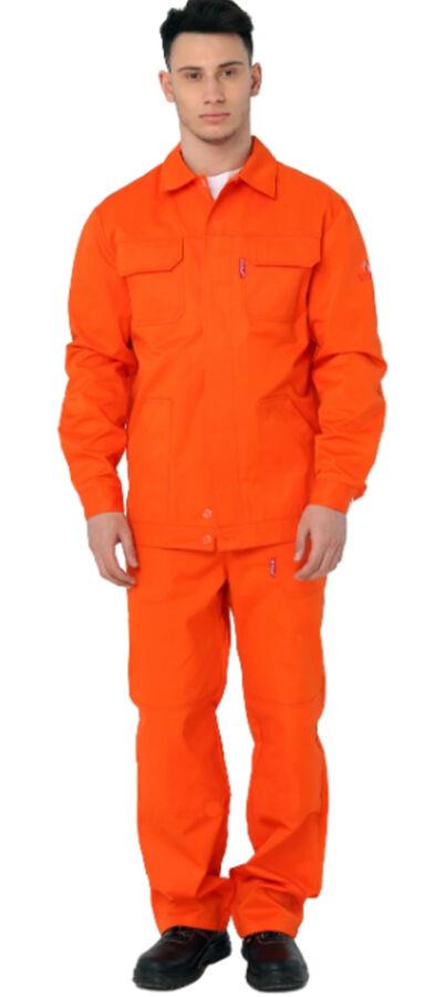 Рабочая куртка оранжевая