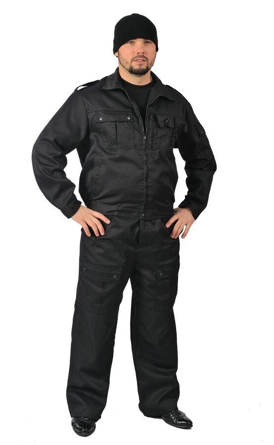 Костюм охранника черный