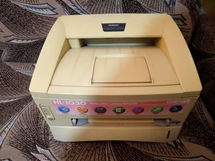 Принтер лазерный Brother HL-1030