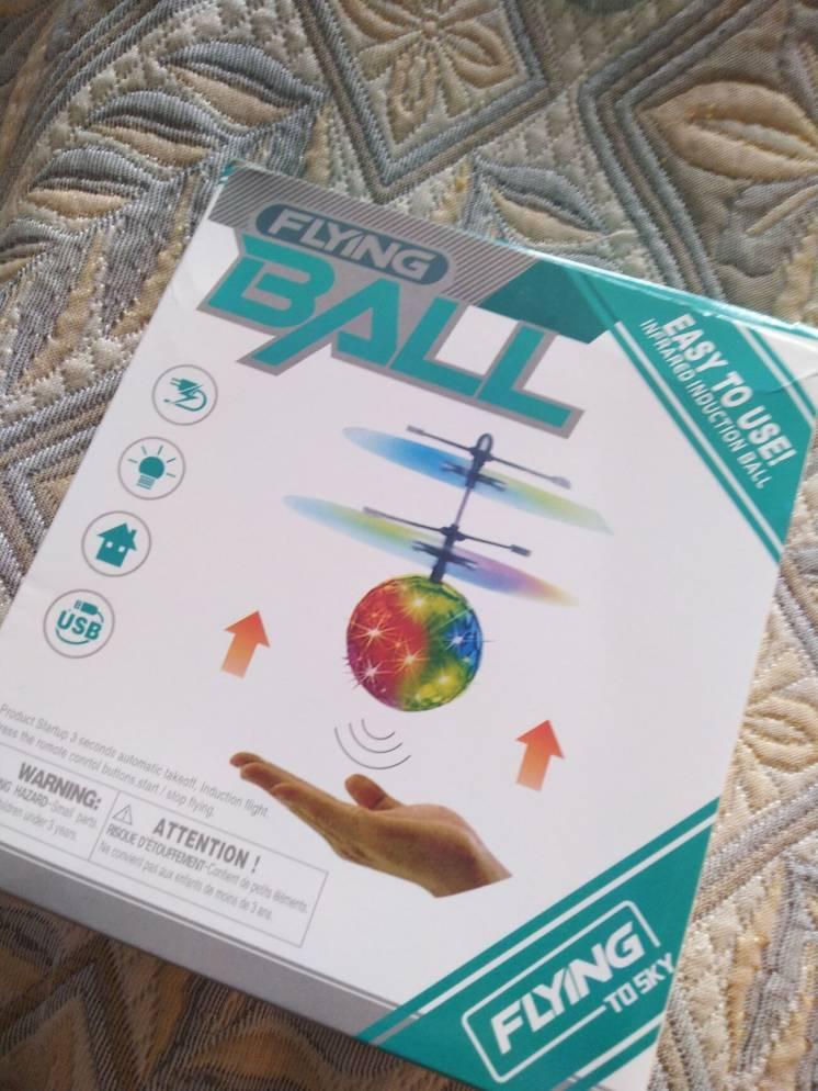 Летающий шар. сенсорний. игрушка.
