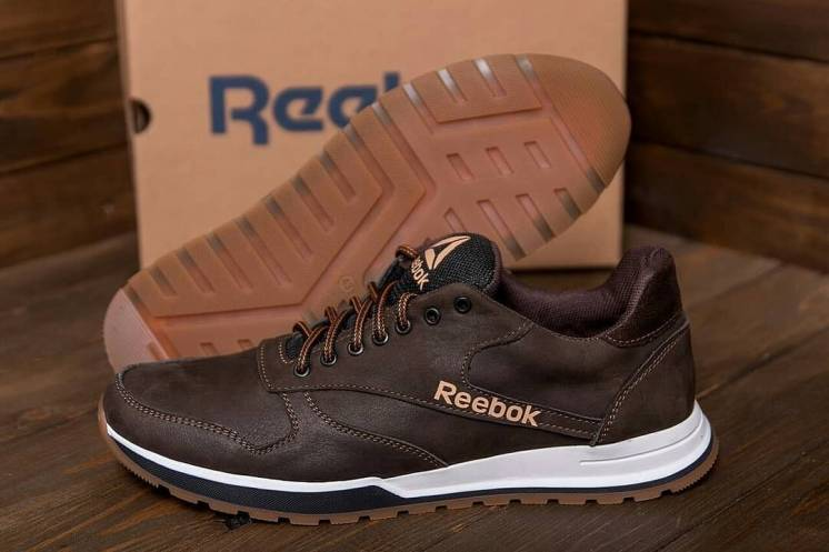 Чоловічі натуральні шкіряні кросівки Reebok