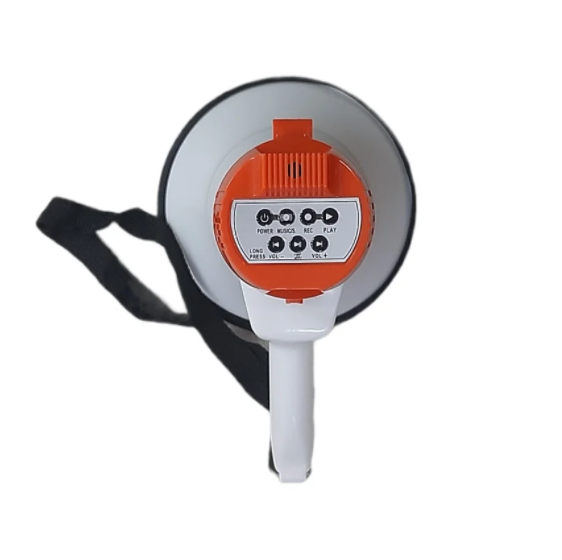 Рупор громкоговоритель ручной SD-5S 20W с записью