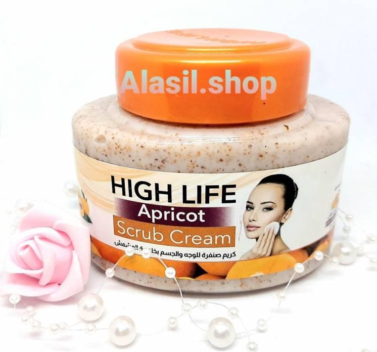 Скраб для лица Apricot Scrub Cream High Life Египет
