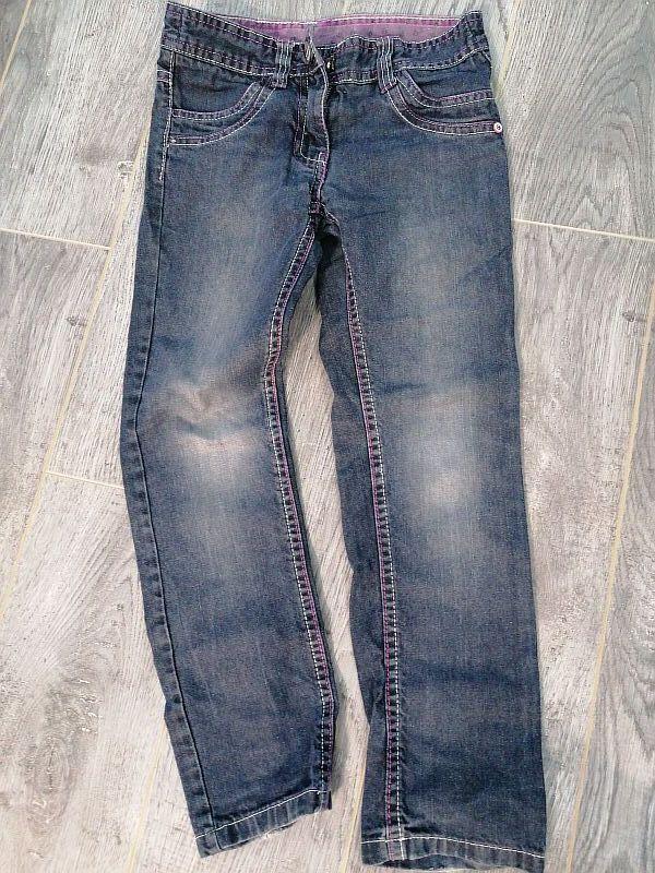 Классные джинсы для девочки 6-7 лет