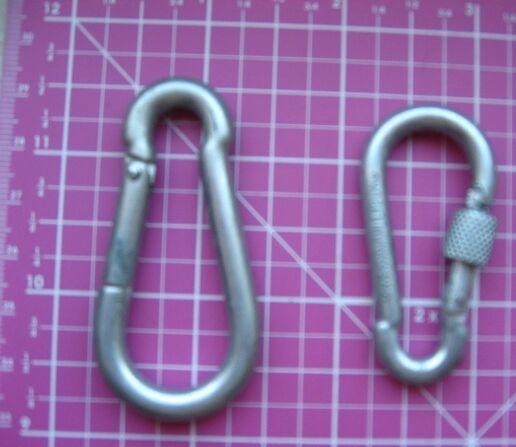 карабин хозяйственный металлический, малый, с муфтой