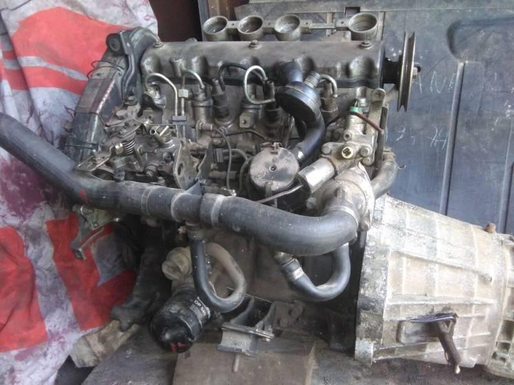 Для ваз 2121 двигун 1.9 диз.(сітроен)з КПП5ст.