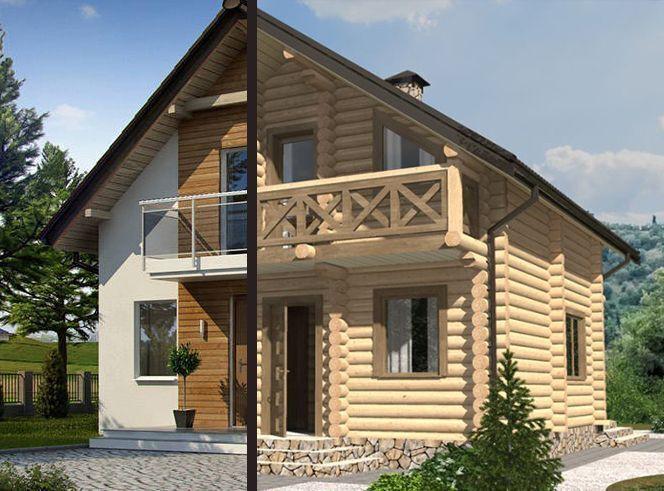 Дерев'яні будинки