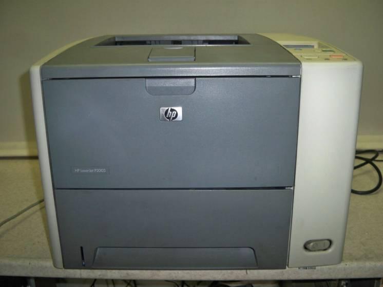 Продам лазерный высокоскоростной принтер HP LaserJet P3005, 1200x1200